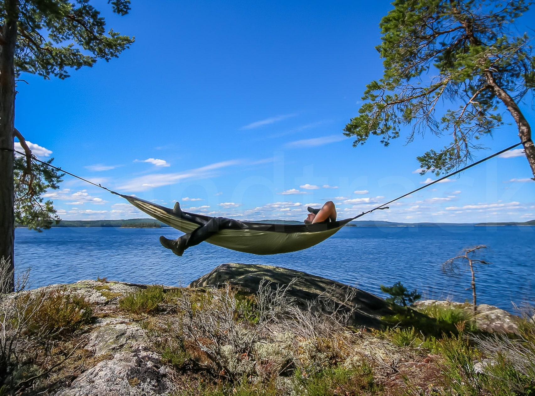 Outdoorküche Klappbar Norden : Urlaub auf der eigenen insel schweden see stora bör