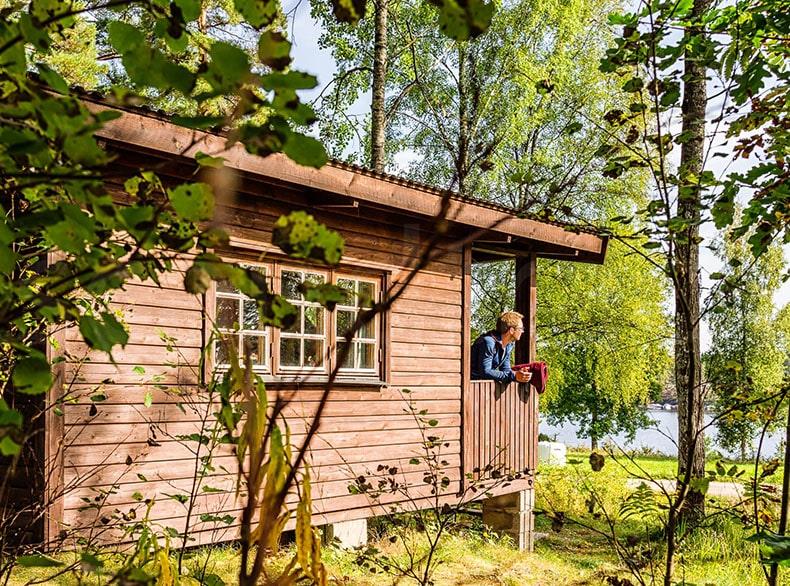 Outdoorküche Klappbar Norden : Ferienhäuschen am see foxen schweden nordmarken