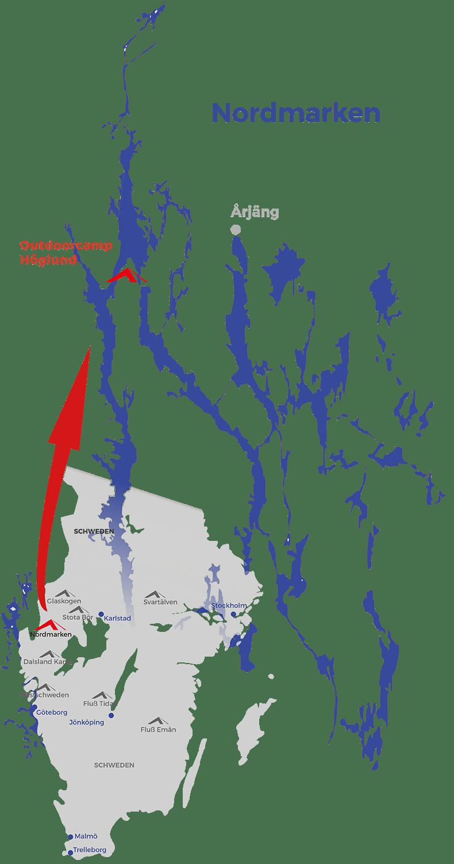 Schweden Karte Pdf.Kanutour Auf Eigene Faust Schweden Nordmarken 2020