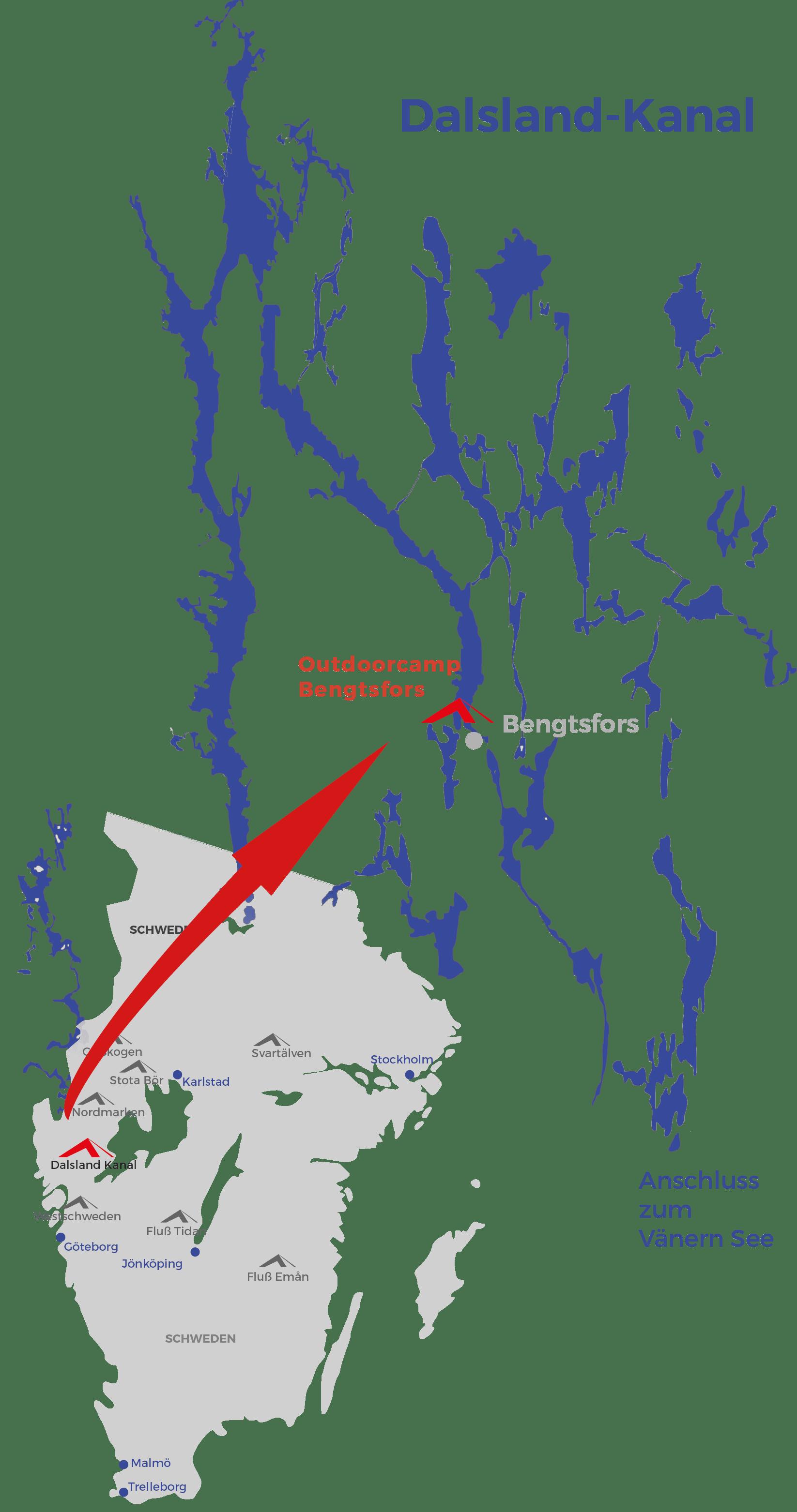 Schweden Karte Regionen.Kajaktour Auf Eigene Faust Schweden Dalsland Kanal Im